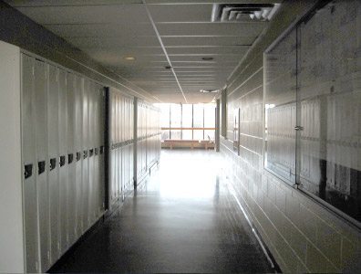 Typical Corridor In A Southern Ontario College Photo Taken By Marilyn Teitelbaum